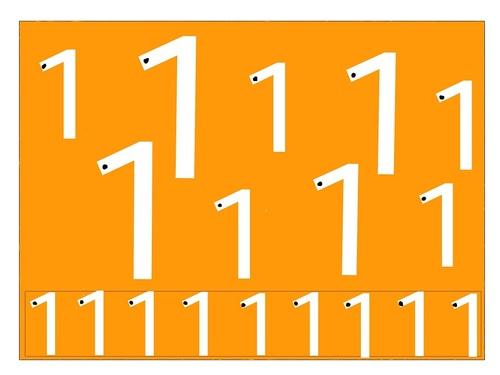 chiffres: de 0 à 9