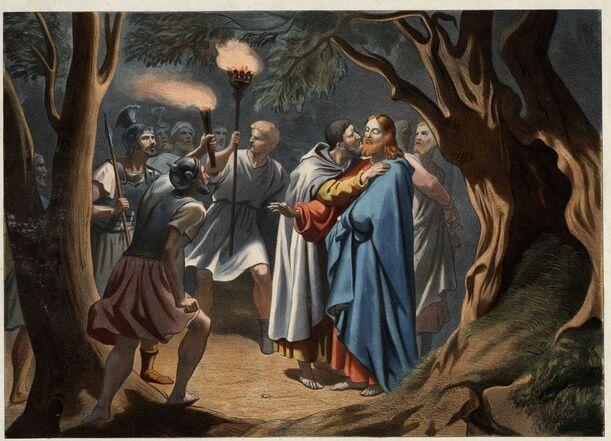 La Bible expliquée aux enfants : la trahison de Judas