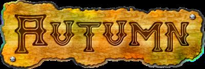 Ecriture texte d'automne