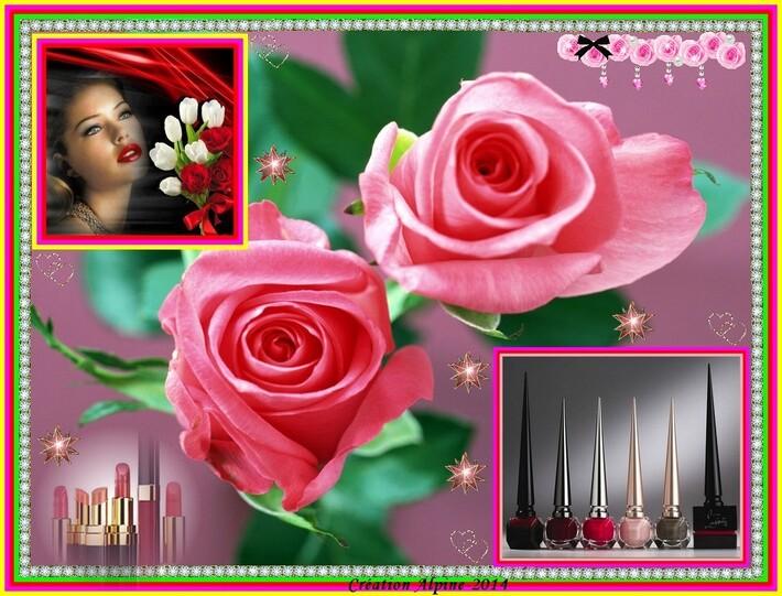 Roses et Maquillage