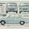 Ford Cortina Mk1 1500 2 Dr 1965-66 (Airflow)