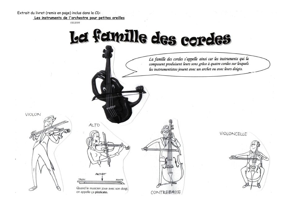 Souvent Rallye- liens Musique -Les instruments de musique - Luluarcenciel QM57