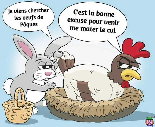Bon lundi de Pâques !