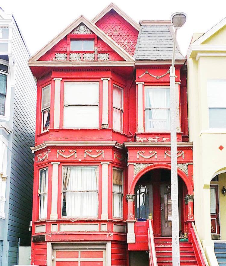 Les-maisons-en-couleurs-de-San-Francisco-5 Les maisons en couleurs de San Francisco