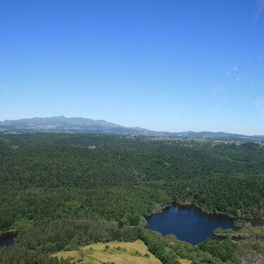 Environs Lac de la Crégut-vue aérienne-1