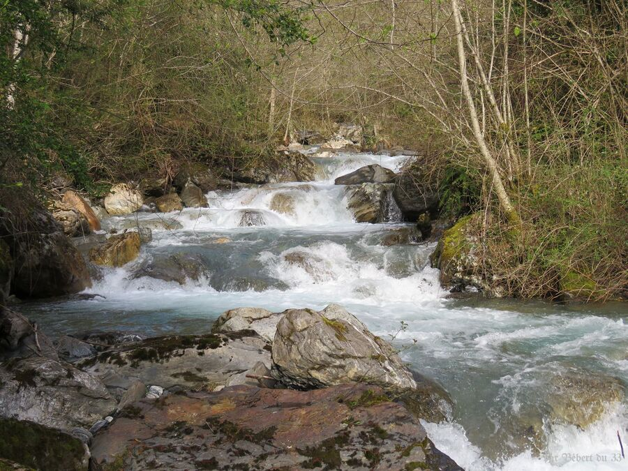Laruns dans les Pyrénées (64)