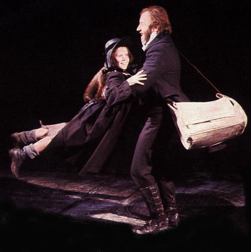 Interview 1987 Les Miz ;Colm Wilkinson -Jean Valjean et Cosette