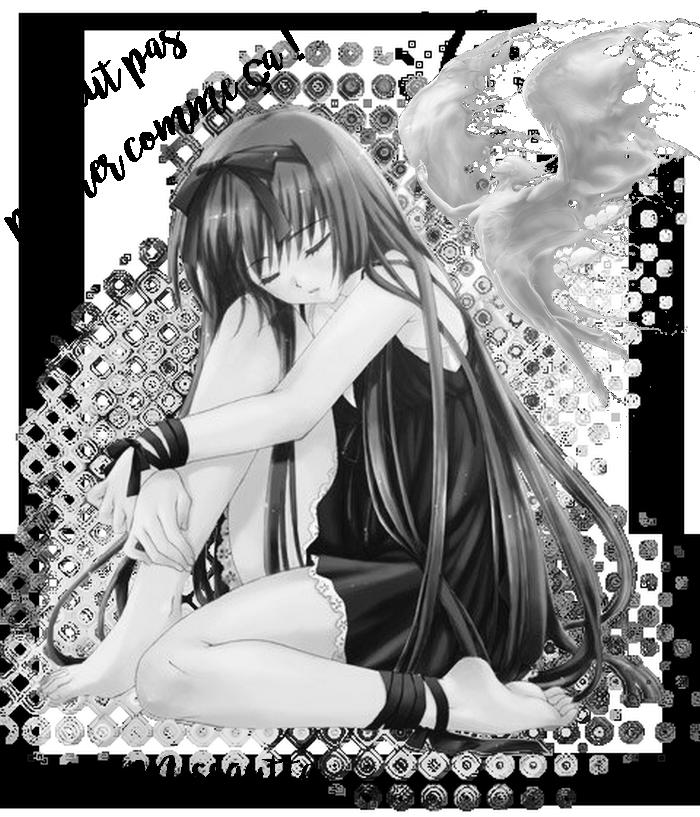 Mon ange défi Manik très beau pour l'ange ,
