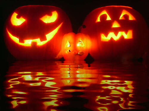 http://www.zingerbug.com/Backgrounds/background_images/reflecting_halloween_pumpkins.jpg