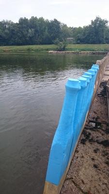 Remontée du barrage de Chisseaux