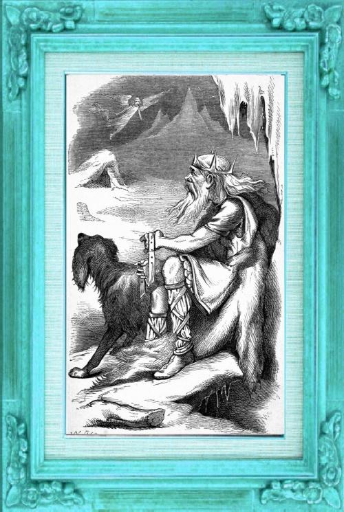 Thrym,  le roi des géants du givre.
