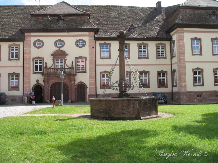 Allemagne : St Peter l'abbaye