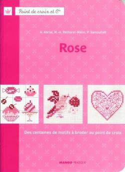 Point de croix et Cie - Rose