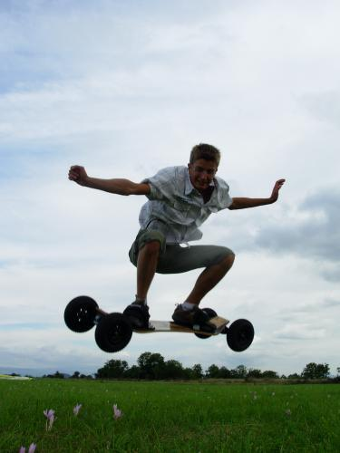 Le mountainboard
