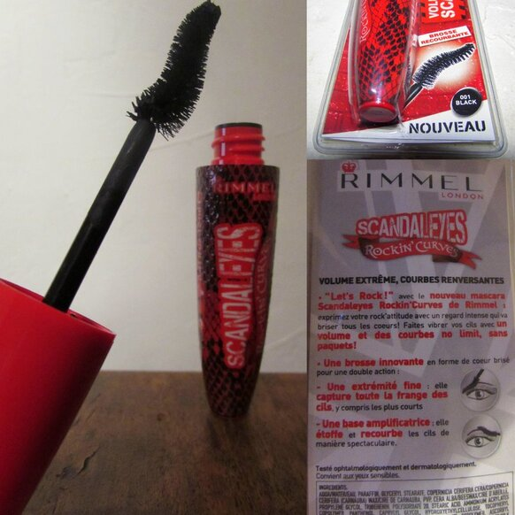 Mascara ScandalEyes Rockin'Curves de Rimmel London