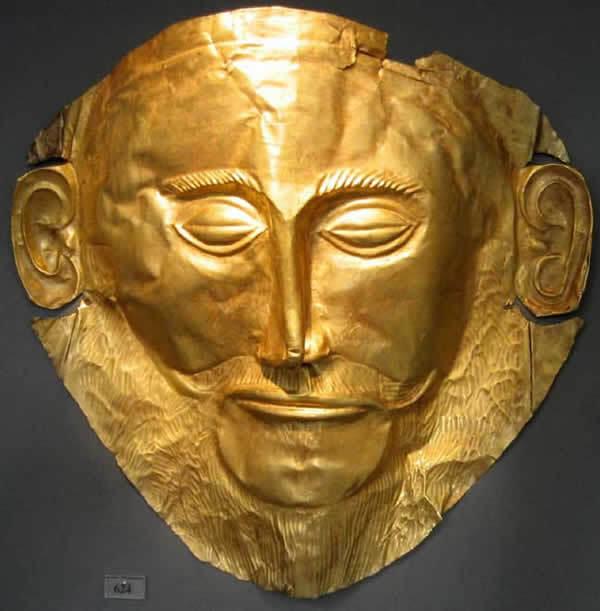 Masque d'Agamemnon