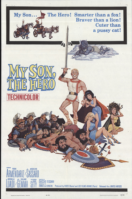 MY SON THE HERO BOX OFFICE USA 1963