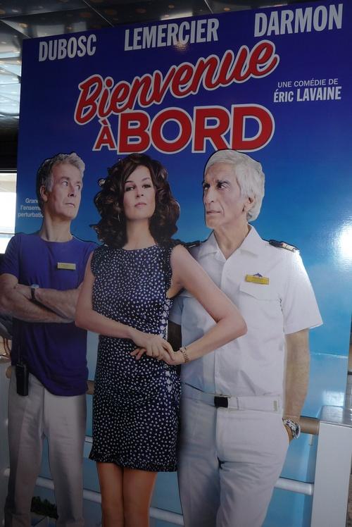 """Avant Première """"Bienvenue à Bord"""" à bord du Costa Serena (17 septembre 2011) Marseille"""