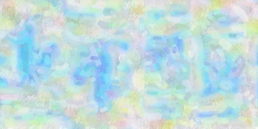 Grandes texturezs abstrait couleurs printemps /bleu