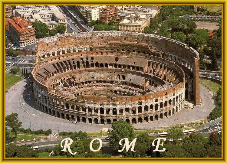 Patrimoine mondial de l'Unesco : Le centre historique de Rome - Italie - 1ere partie