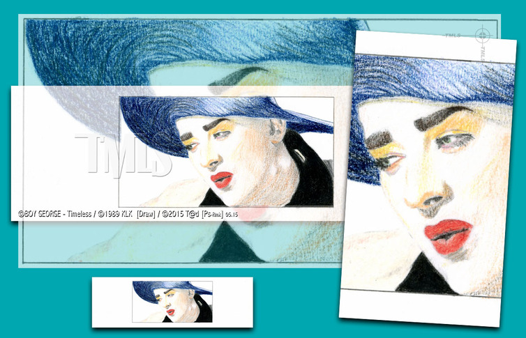 BOY GEORGE - 1987 - TO BE REBORN - ©1989 KLK [Draw]