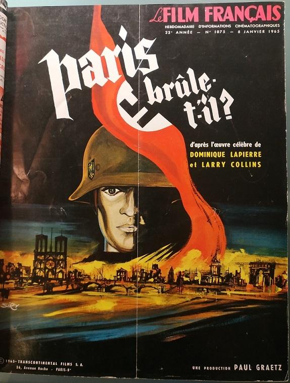 PARIS BRULE-T-IL BOX OFFICE FRANCE 1966