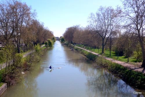 Toulouse: canal latéral de la Garonne