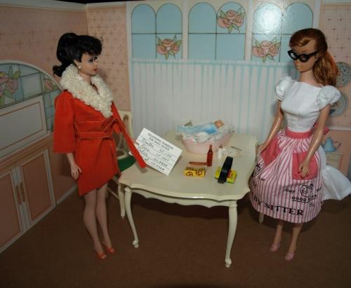 Barbie vintage : Baby-sits