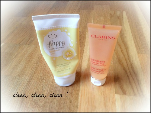 ♥ Skin care routine (été 2014) ♥