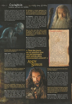 Le Hobbit dans le magazine Gold Collector