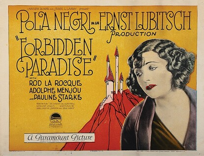 PARADIS DEFENDU BOX OFFICE1924