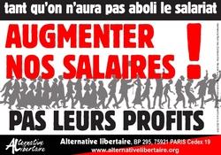 augmenter salaires abolition du salariat