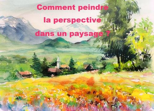 La perspective dans le paysage