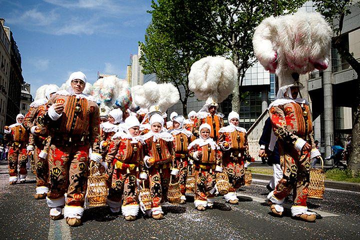 Le Carnaval de Binche et ses Gilles...