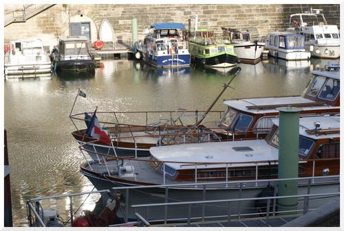 Paris. Port de l'Arsenal.
