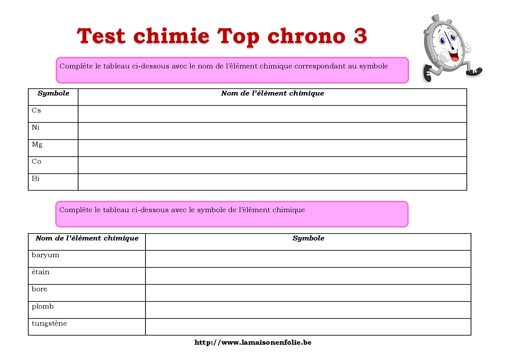 Test Top chrono 3