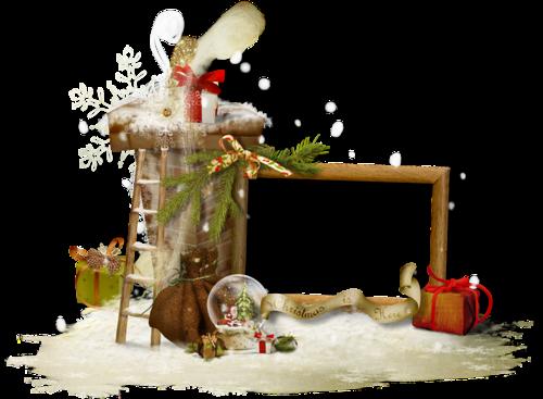 Cadres et Clusters Noël Série 11