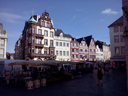 Travelling across Germany: Trier, Paderborn and Detmold
