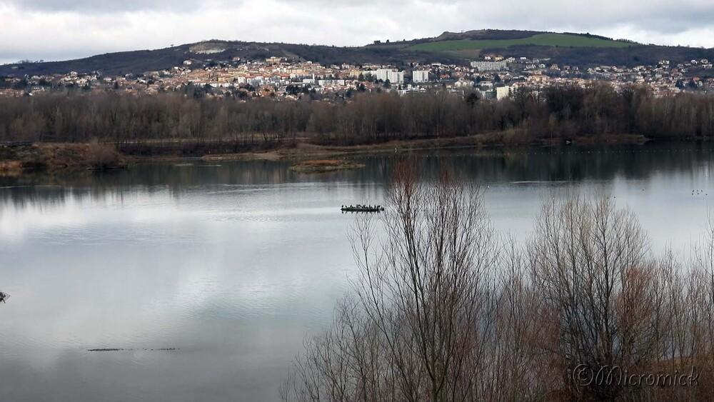 Super-zoom du Nikon P 1000 au bord des étangs