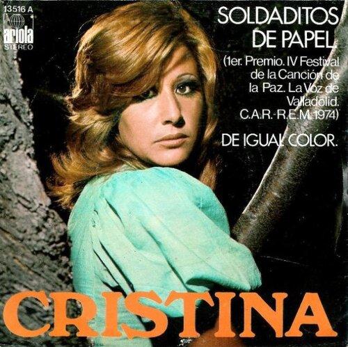 Cristina - Soldaditos De Papel