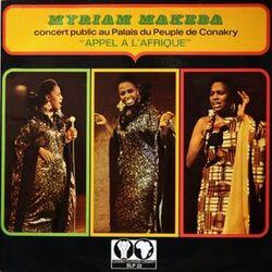 Myriam Makeba - Appel A L'Afrique - Complete LP