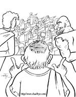 La foule choisit Barrabas à Jésus