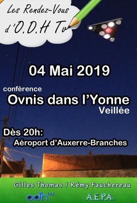 Le 04 mai 2019 - 4ème Rendez-vous d'odhtv dans l'Yonne