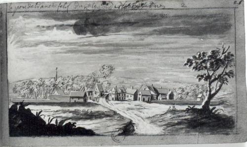 Le Pont-Tranchefétu au XVIII° siècle