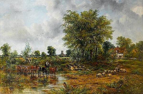 Peinture de : Frederic William Watts