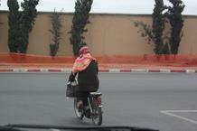 MARRAKECH - MOTOCYCLISTE