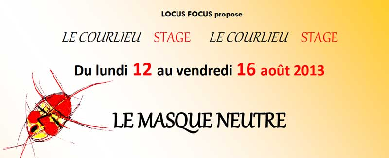 Preview Flyer Masque Neutre