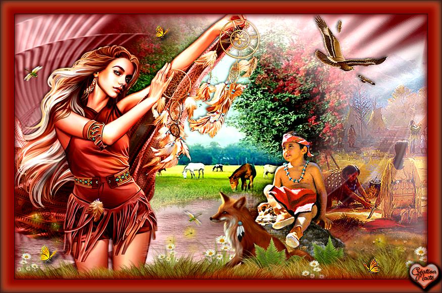 Les Belles Amérindiennes