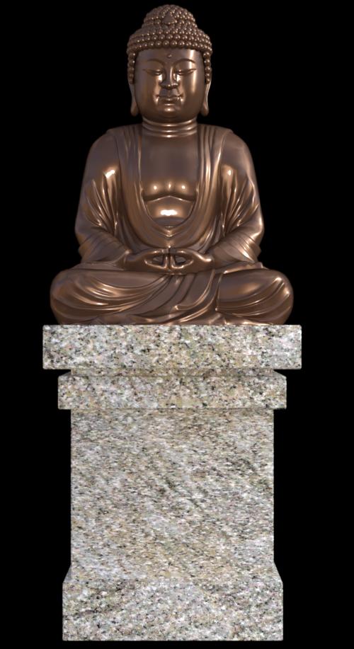 Tube de bouddha (imag-png-render)