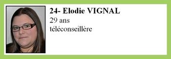 24- Elodie VIGNAL
